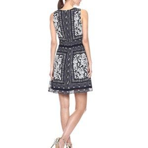 Vince Camuto Dresses - NWT Vince Camuto Navy Floral Dress Pockets 8 10